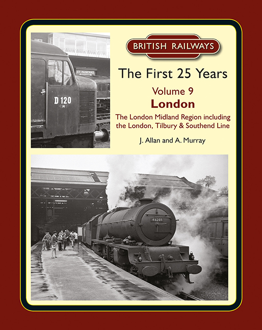 British Rail First 25 Years History Books Section