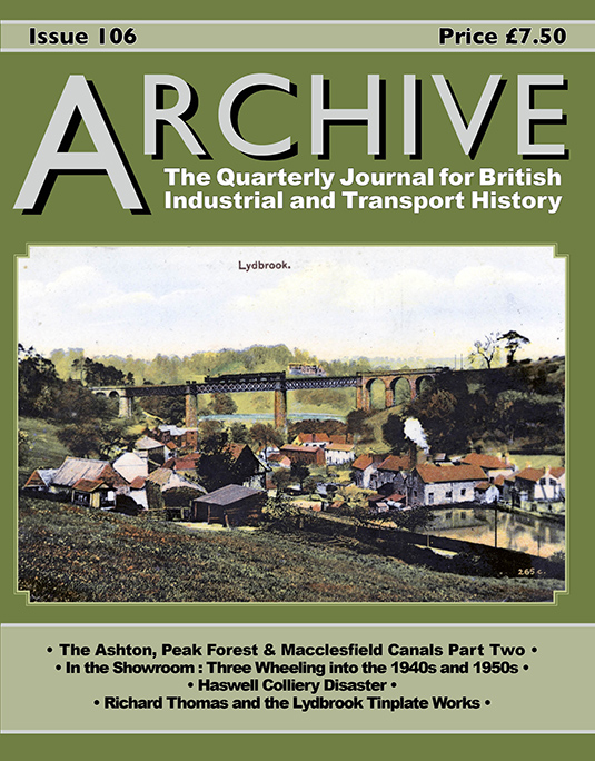 Archive Industrial & Transport History Journal